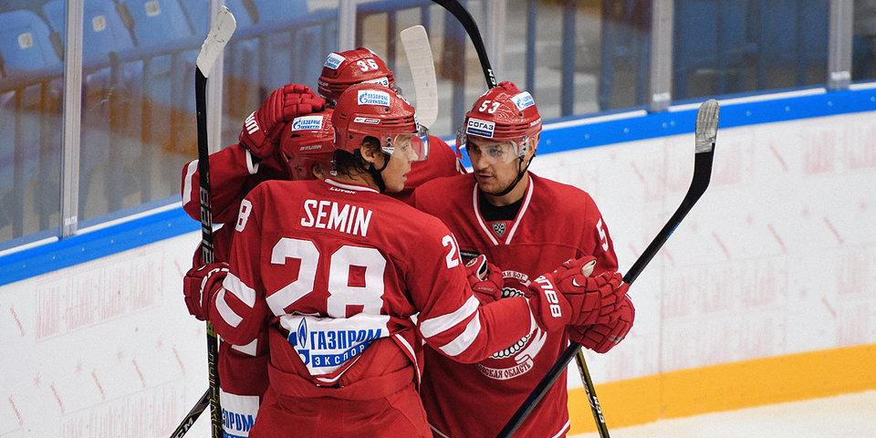 «Витязь» разгромил «Северсталь» в матче КХЛ