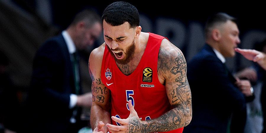 Джеймс выпрыгивает в стиле Криштиану Роналду и приносит ЦСКА победу над лидером Евролиги. Очень мощное видео