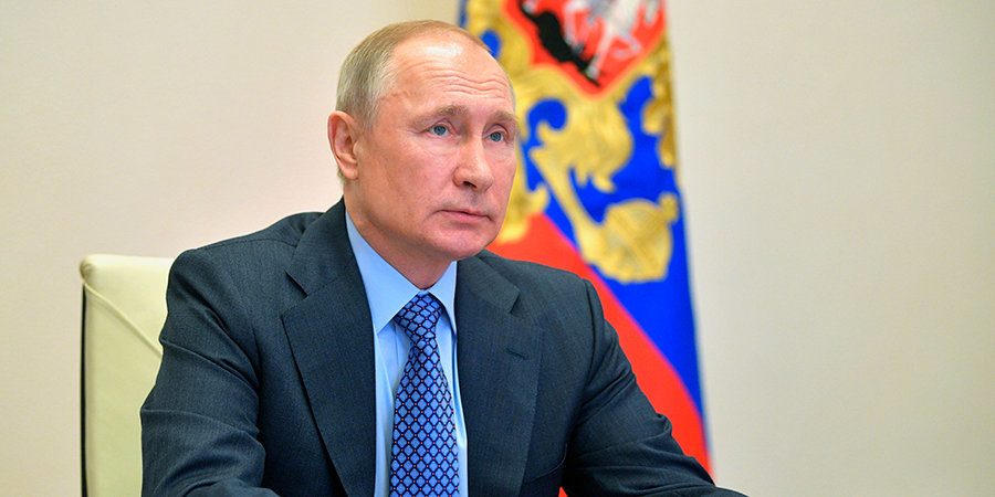 Владимир Путин: «Идея онлайн-олимпиады ФИДЕ объединила команды из 163 стран»