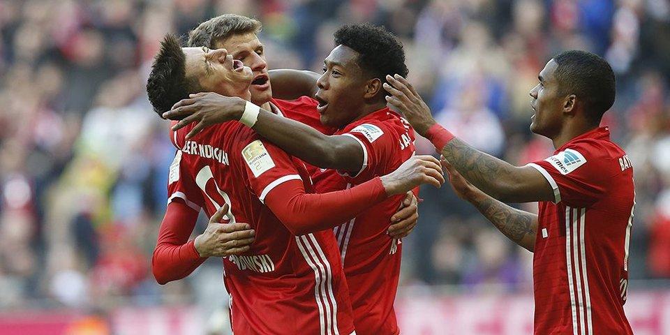 «Бавария» за полчаса уничтожает «Шальке»: все голы