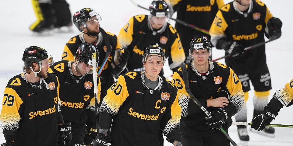 «Северсталь» вырвала победу в матче с «Сибирью» в КХЛ