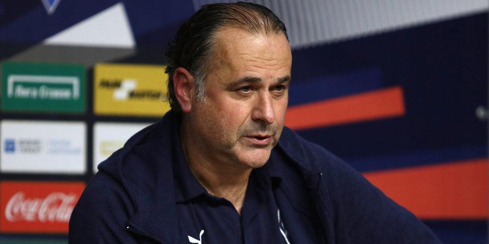 Миодраг Божович: «Думаем сейчас только об игре с «Арсеналом», которая будет очень важной для нас»