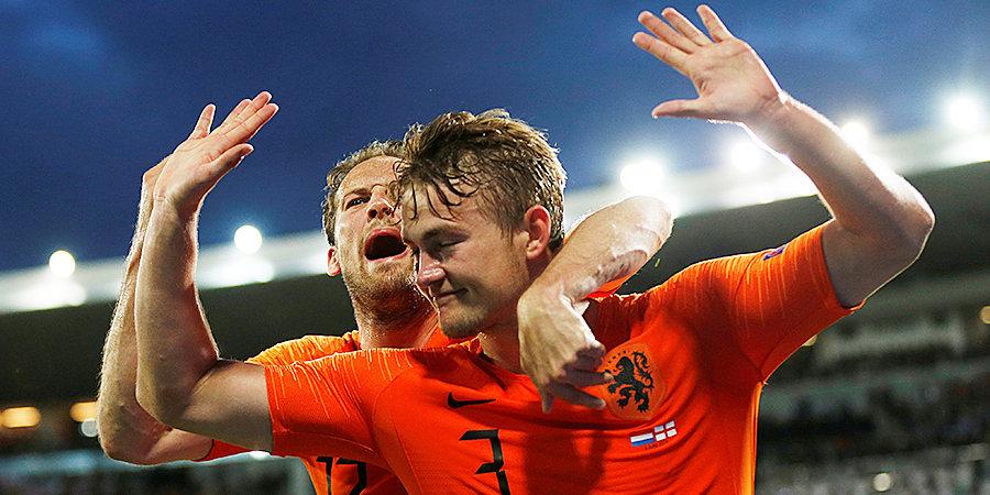 Игрок сборной Нидерландов Де Лигт в преддверии старта Евро отказался от вакцинации против коронавируса