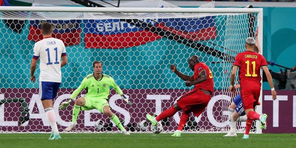 Экс-арбитр ФИФА объяснил, почему не отменили первый гол Лукаку в ворота России