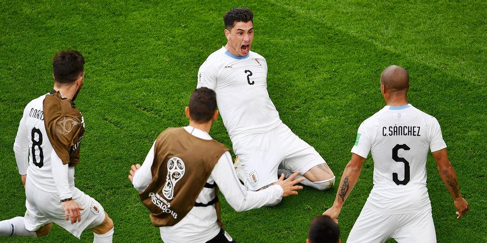 Уругвай прибыл в Ростов-на-Дону на матч с Саудовской Аравией