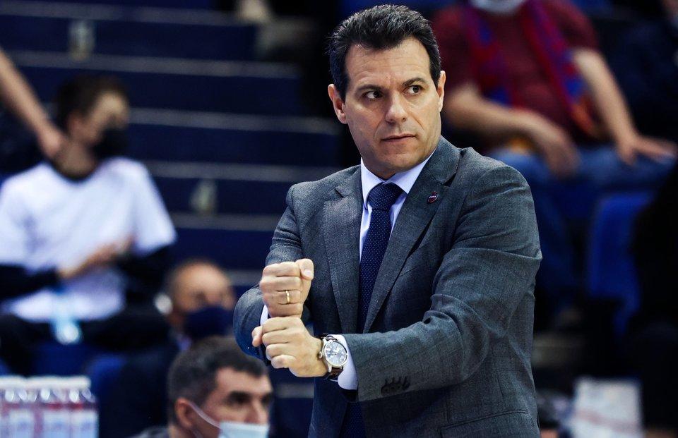Димитрис Итудис: «Баскетболисты ЦСКА ответственно провели большую часть матча с «Пармой»