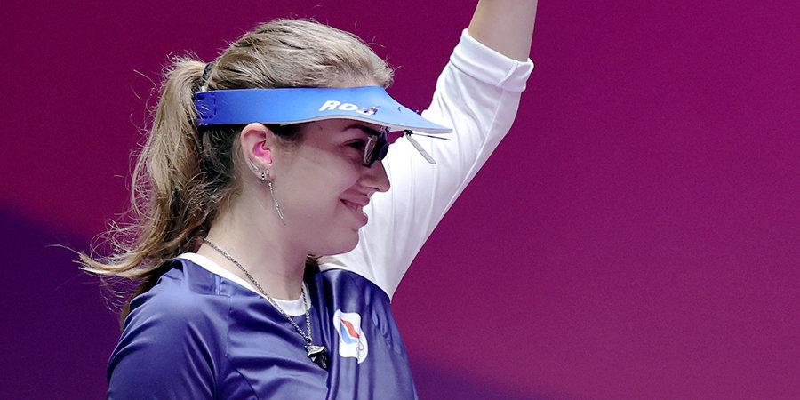 Сбой электроники и «баранка» не вывели из себя. Виталина Бацарашкина — первая российская чемпионка Токио-2020!