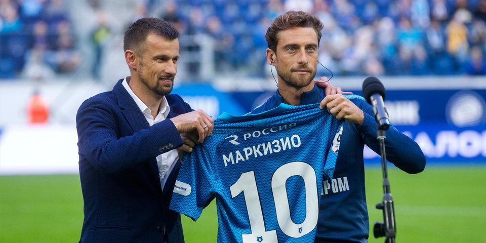 Маркизио забил первый гол в РПЛ