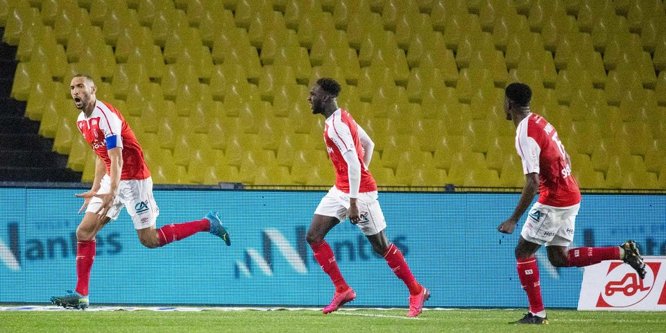 «Реймс» обыграл «Нант», «Брест» уступил «Мецу» в чемпионате Франции