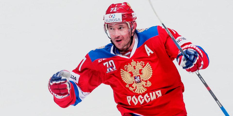 Сборная России прибыла в Ригу с Ковальчуком в составе