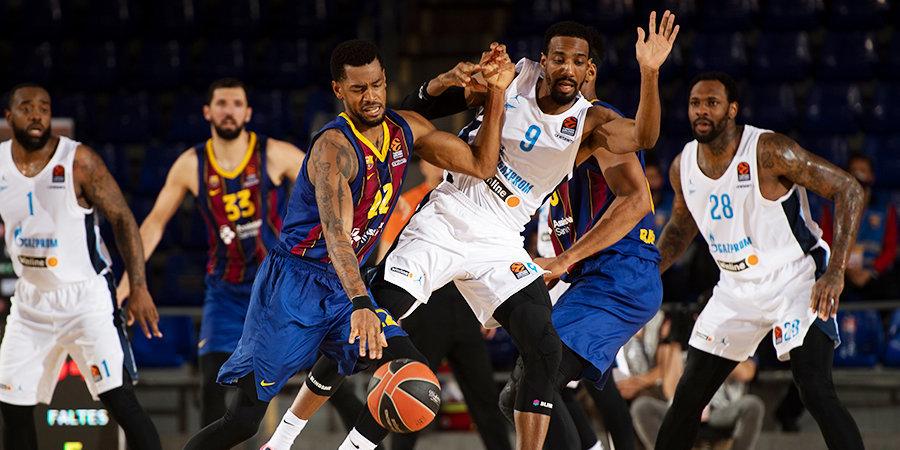 «Барселона» вышла вперед в серии плей-офф Евролиги с «Зенитом»