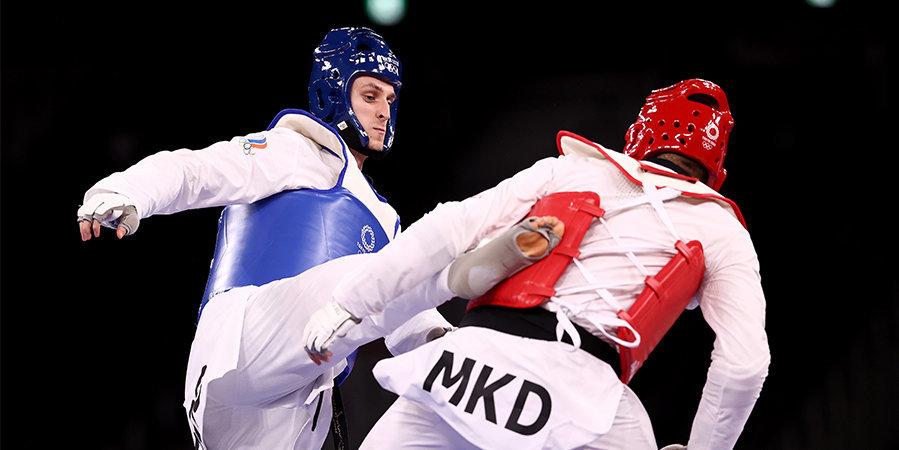 Ларин принес России второе золото Игр в тхэквондо за два дня