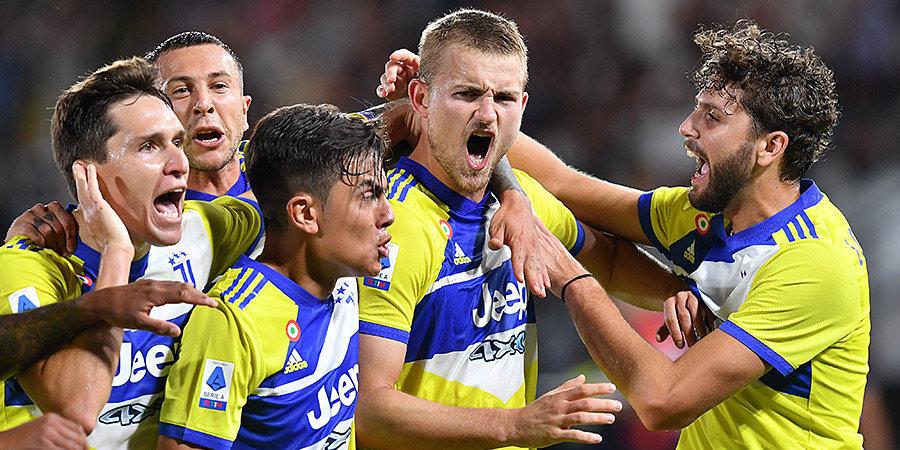 «Ювентус» впервые выиграл в серии А после возвращения Аллегри, «Милан» догнал «Интер» (видео)