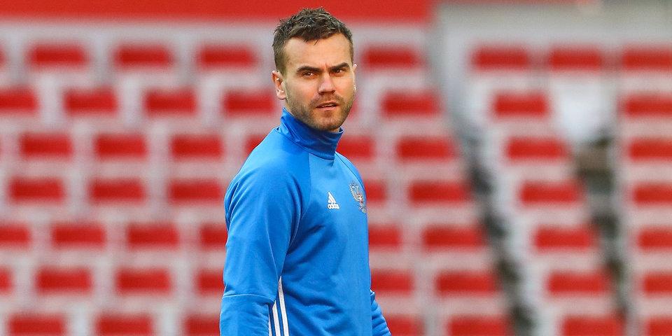 Акинфеев признан лучшим игроком ЦСКА в сентябре