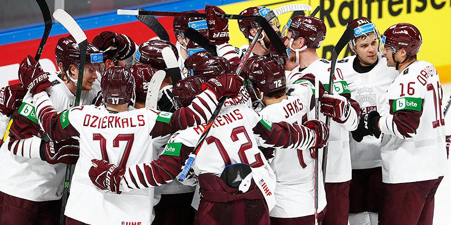 Латвия обыграла Канаду на чемпионате мира, Словакия победила Белоруссию