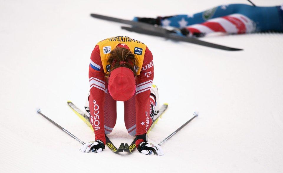 Александр Легков — о Непряевой: «Если ты борешься за общий зачет, нельзя летать домой после «Тур де Ски»