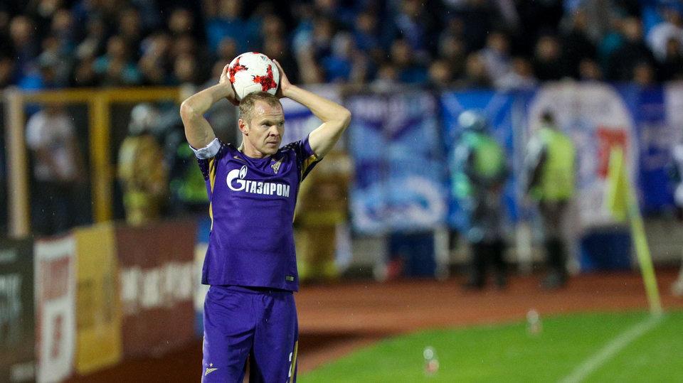 «Зенит» поздравил Анюкова с днем рождения