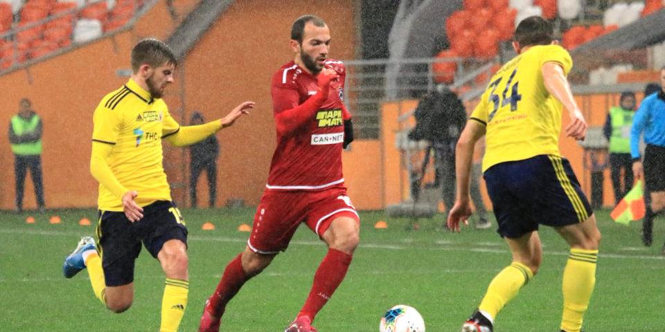 «Ростов» отхватил двушку от Мелкадзе. Игроку потребовался 41 матч, чтобы впервые забить в РПЛ
