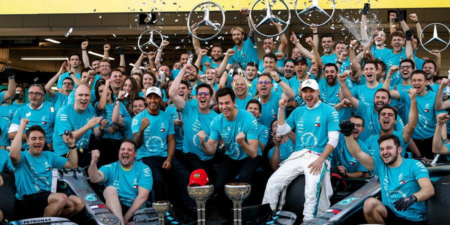 Граци, рагацци! Как «Мерседес» вновь переписал историю «Формулы-1»