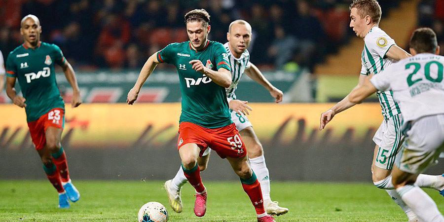 «Локомотив» победил в Грозном без 7 игроков основы и вышел в единоличные лидеры. Голы и лучшие моменты
