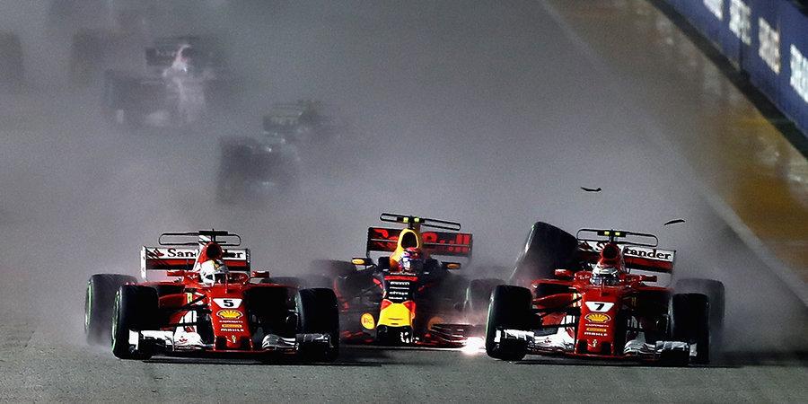 Грязные игры «Рено», худшая гонка Массы, пожары и безумный старт. Самые яркие эпизоды ночного Сингапура