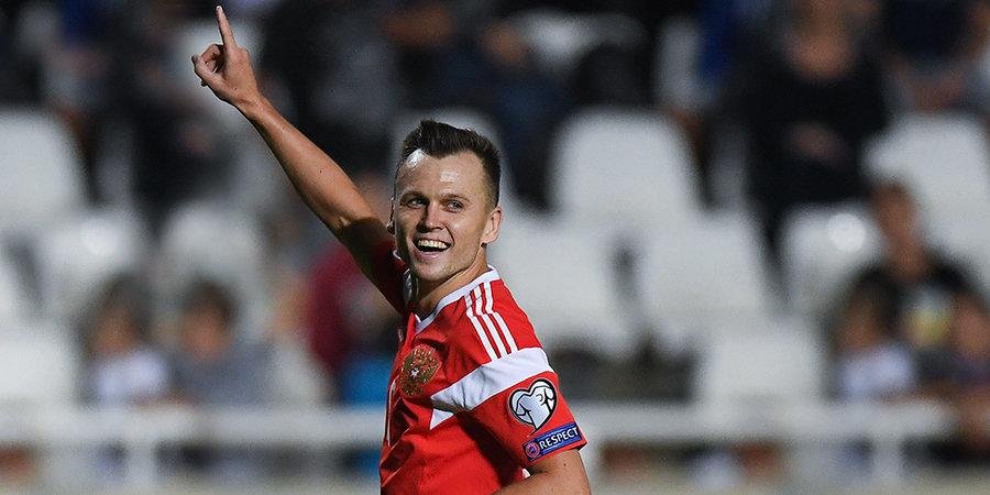 Дзюба — лидер отбора Евро-2020, Черышев — голевая машина, Оздоев — тактическая находка. Кем и чем сильна наша сборная