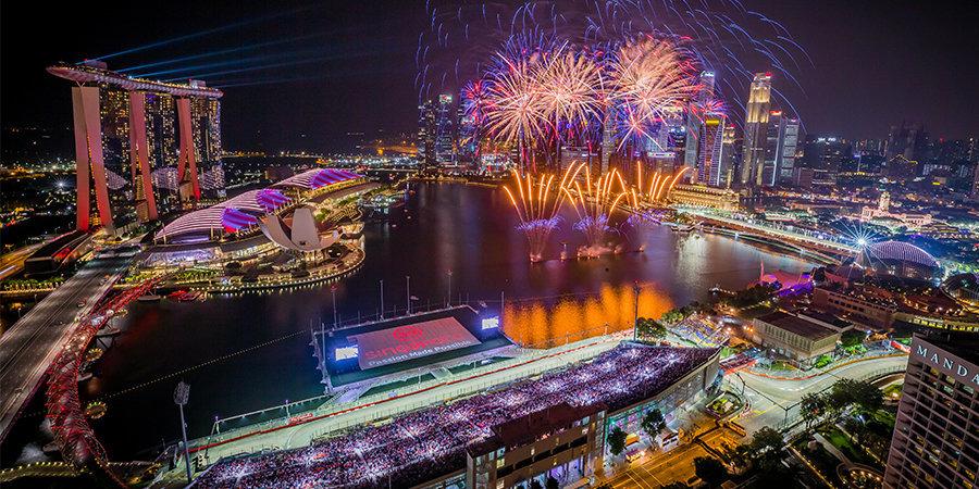 Гран-при Сингапура: прямые трансляции на «Матч ТВ»