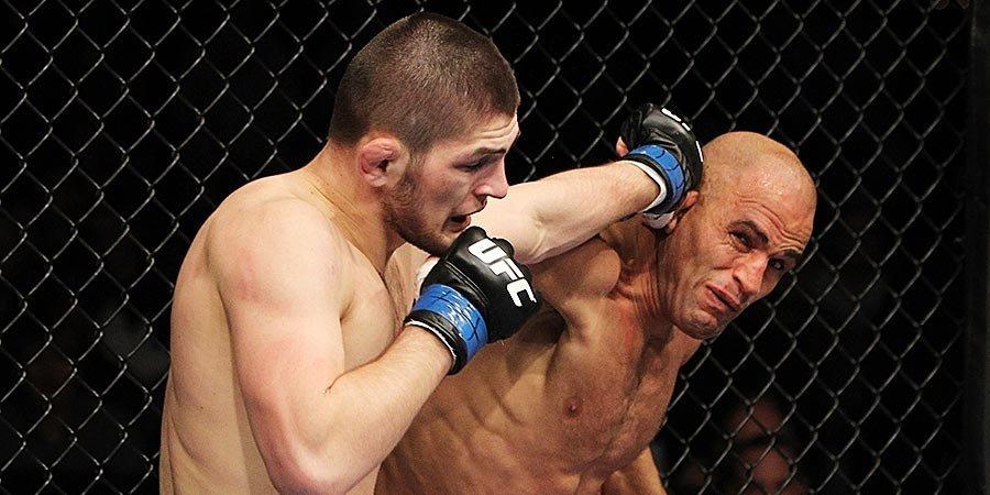 Первый бой Хабиба в UFC — что там было. Видео