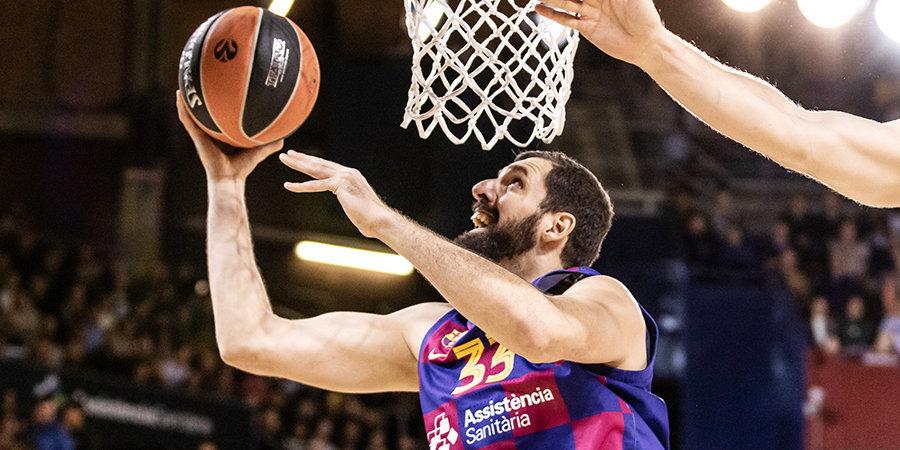 Миротич не поможет «Барселоне» в ближайших играх. У него обнаружен коронавирус