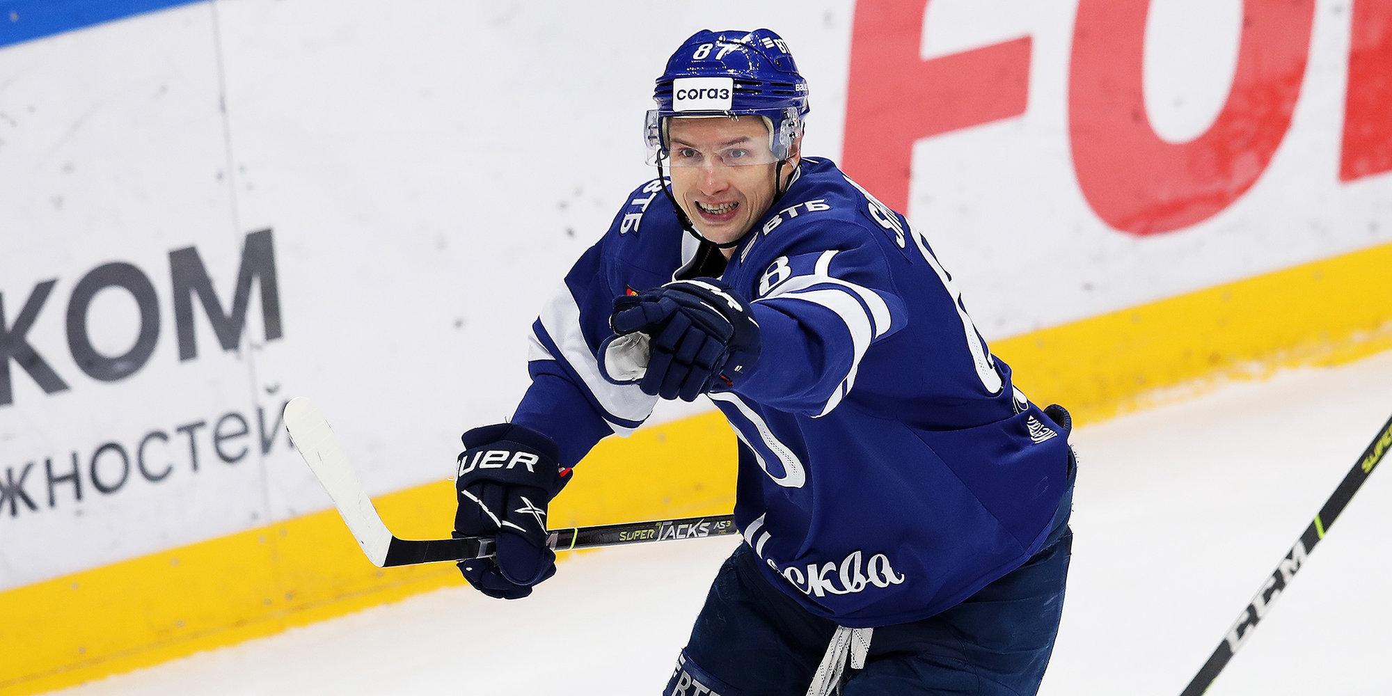 Шипачев — лучший бомбардир «Динамо» в истории КХЛ