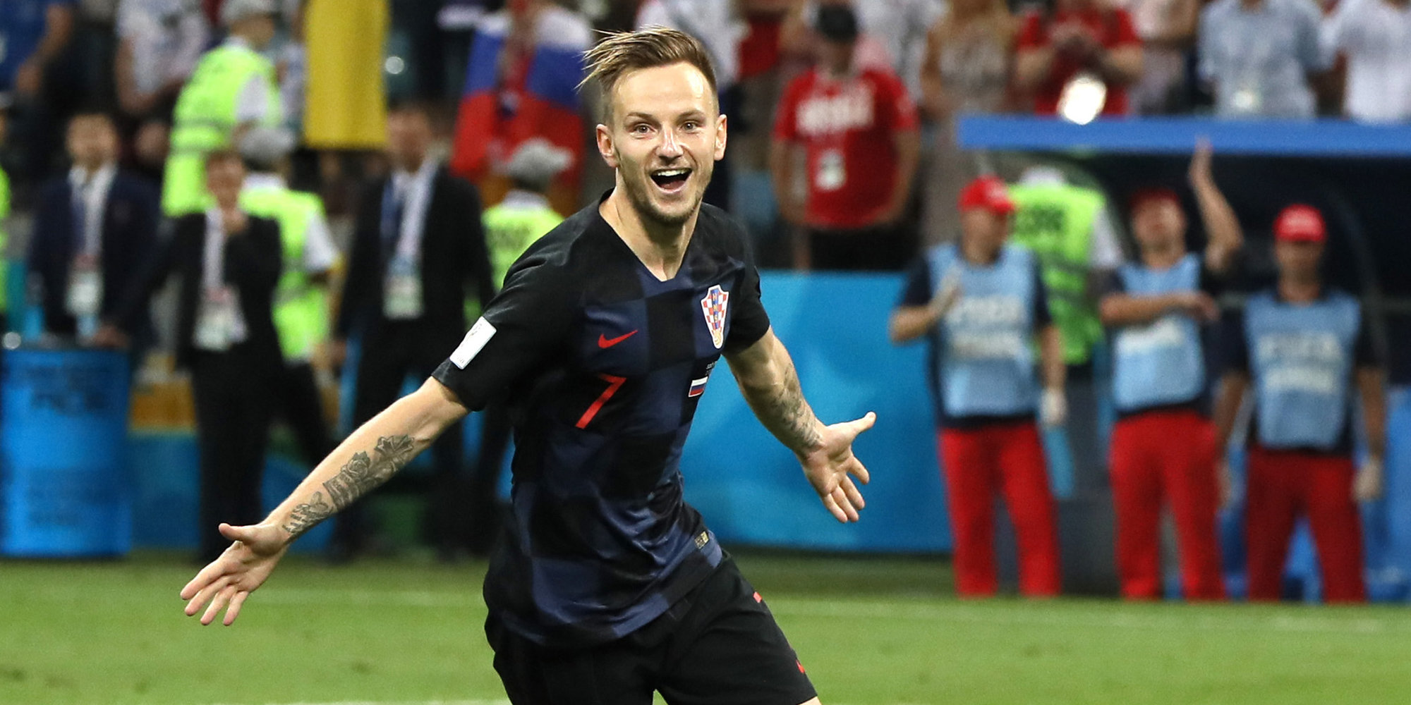 Ракитич желает сделать татуировку налбу вслучае победы Хорватии наЧМ
