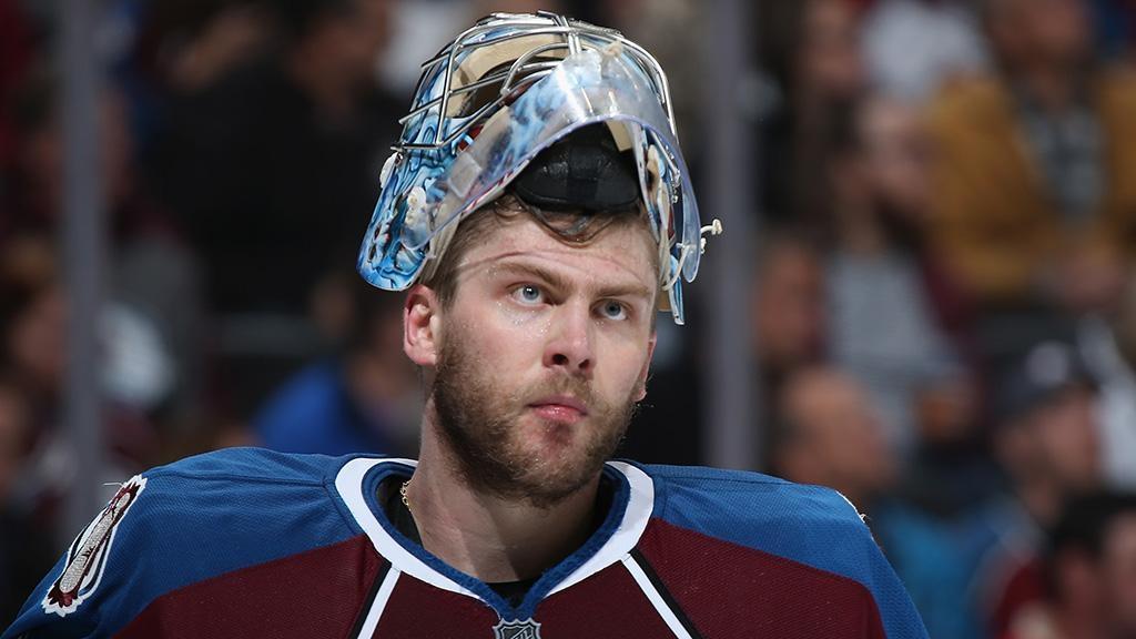 Вратарь клуба НХЛ Варламов получил травму ивыбыл доконца сезона