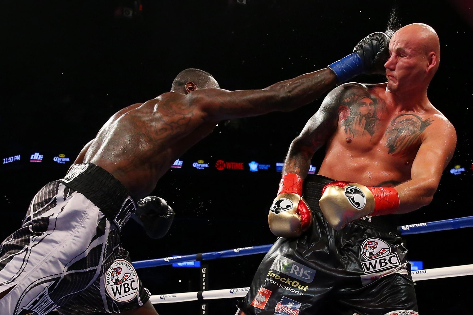 Чемпион WBC Уайлдер получил тюремный срок