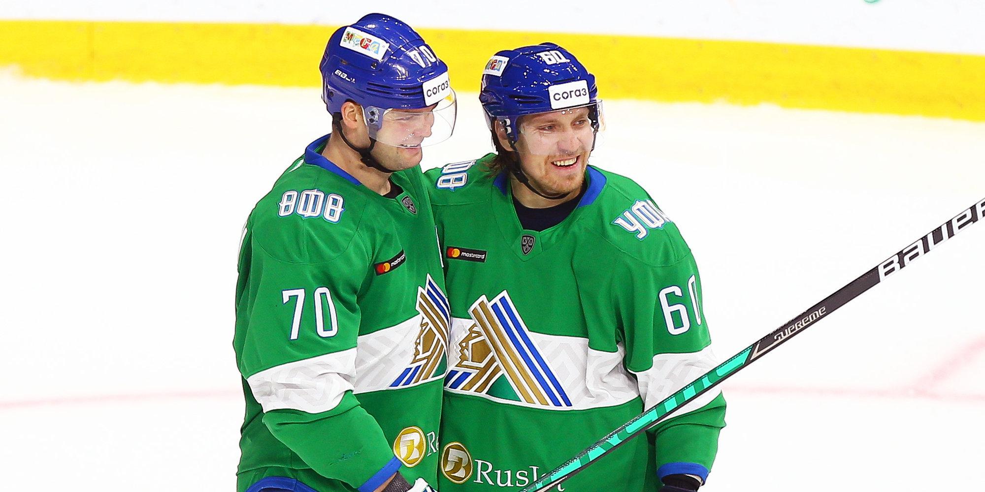 «Салават Юлаев» забросил шесть шайб «Барысу» и одержал третью победу подряд