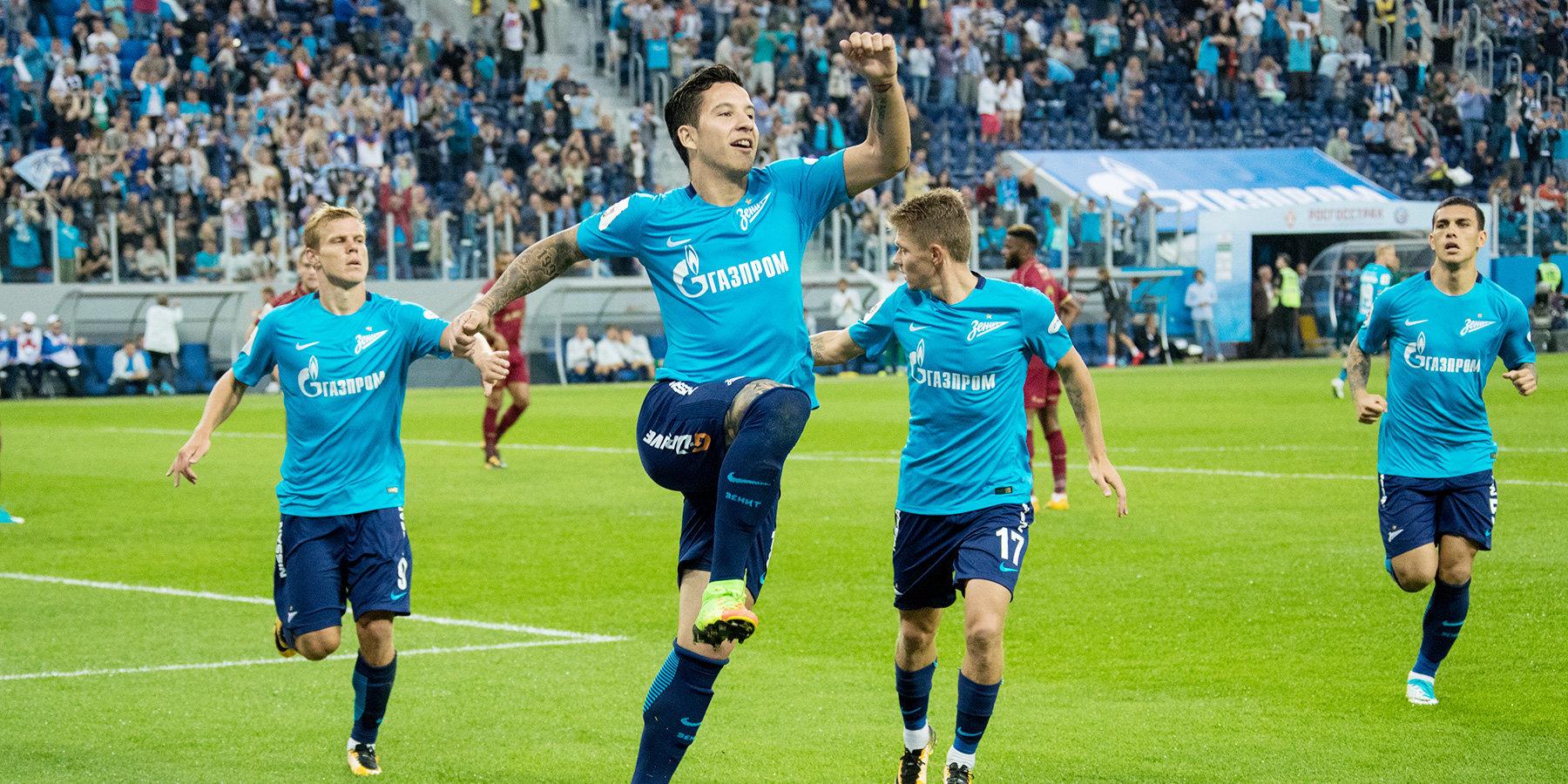 «Зенит» приобретет у«Лиона» права нааргентинского футболиста Мамману