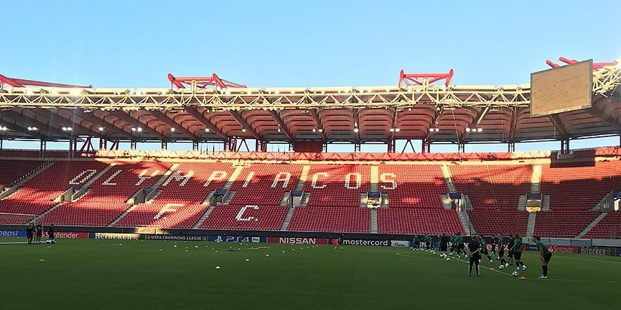 Матч «Олимпиакос»— «Краснодар» обслужит испанская бригада арбитров. Футбол— Лига чемпионов