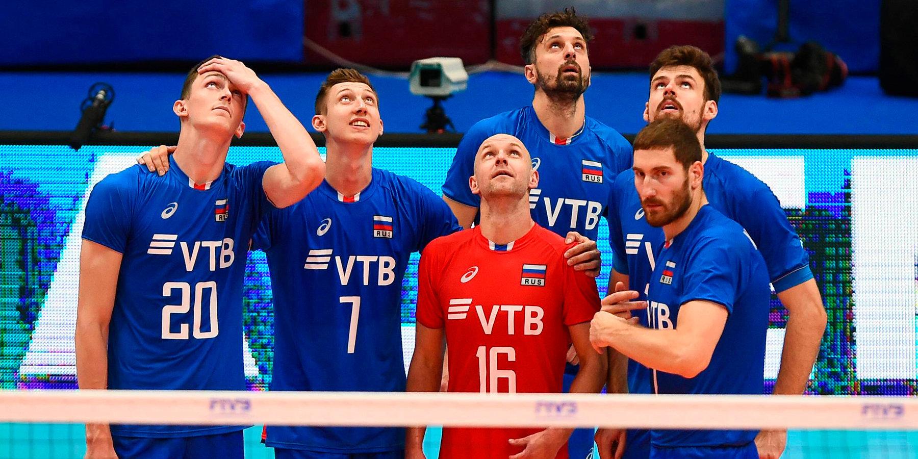 Стали известны соперники мужской сборной России на предварительном этапе Лиги наций
