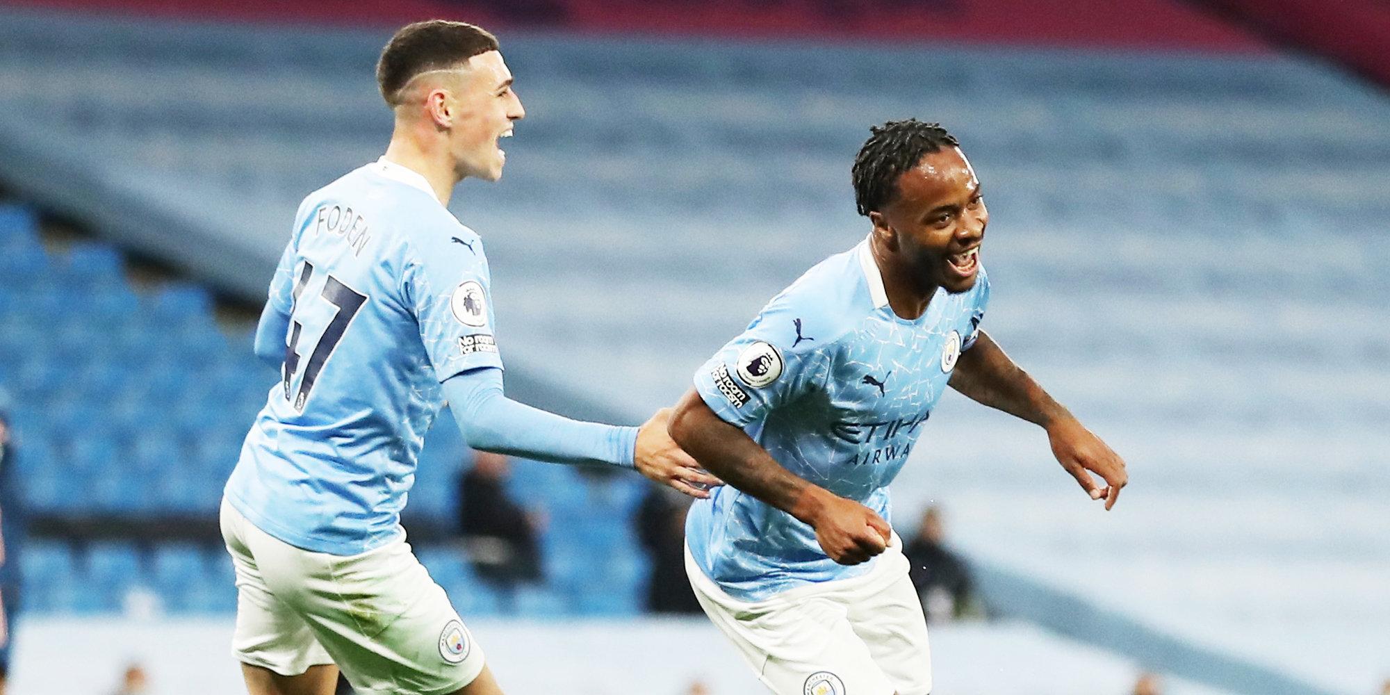 «Манчестер Сити» намерен продлить контракт со Стерлингом и Фоденом