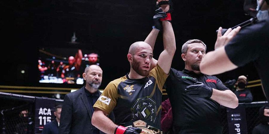 Керефов защитил титул чемпион АСА