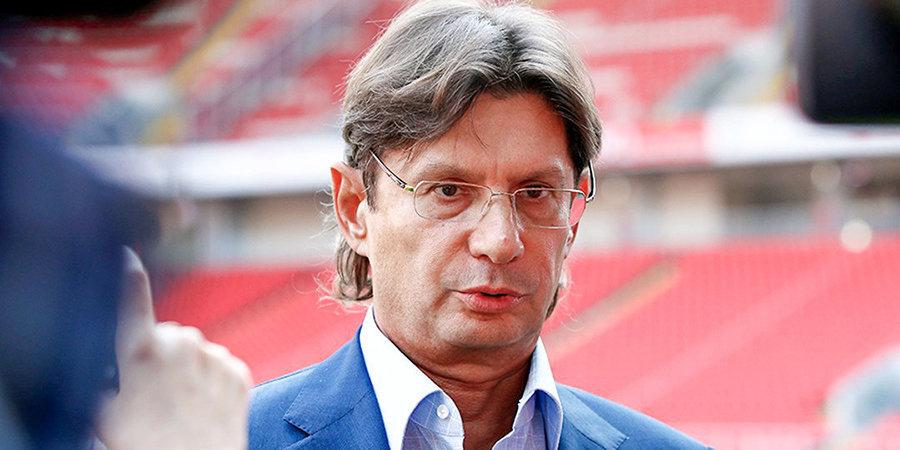 Федун заявил, что «Спартак» не снимется с чемпионата России
