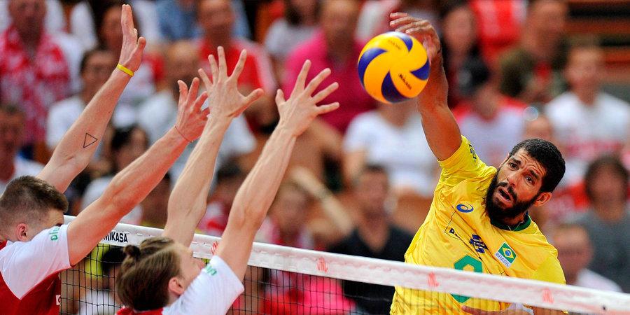 Сборная Бразилии стала победителем Лиги наций