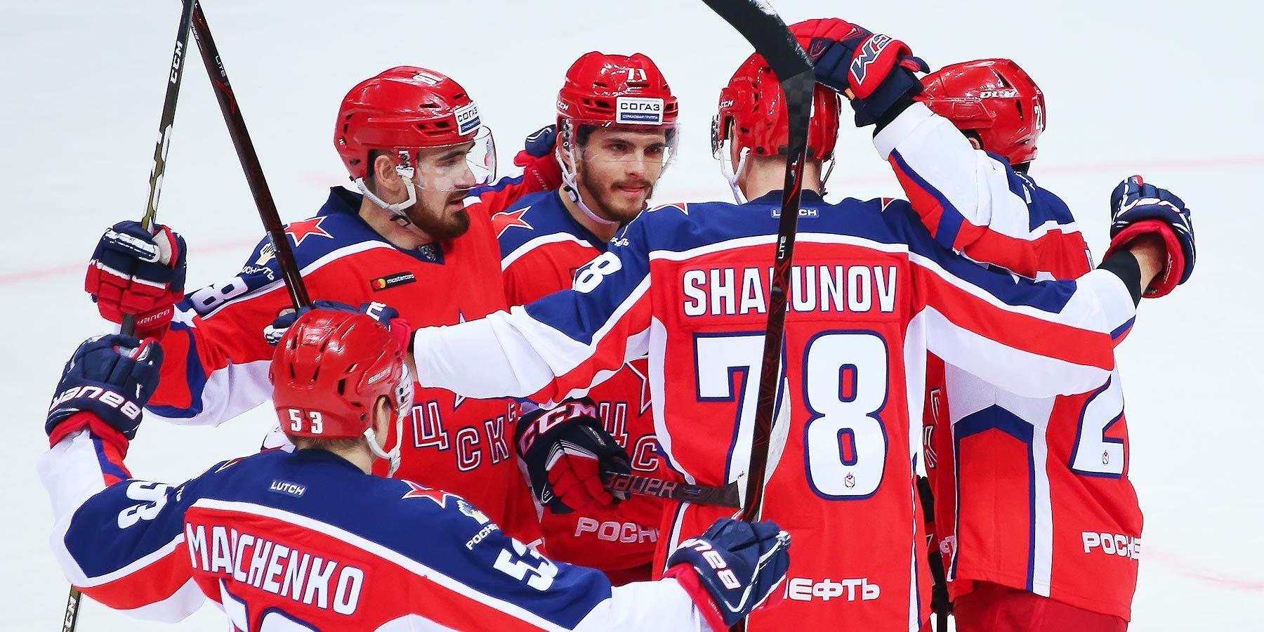 ЦСКА дома обыграл СКА и упрочил лидерство в Западной конференции