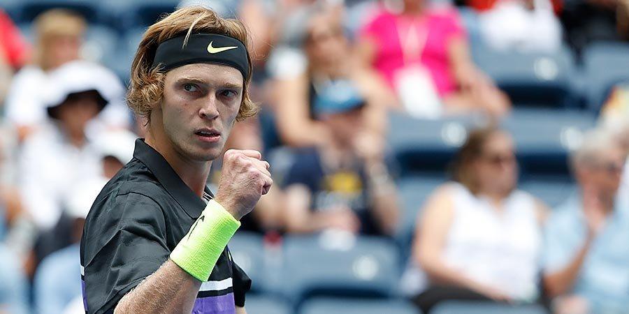 Андрей Рублев — о похвале от Федерера: «Безумно приятно, когда такой великий игрок делает тебе комплимент»