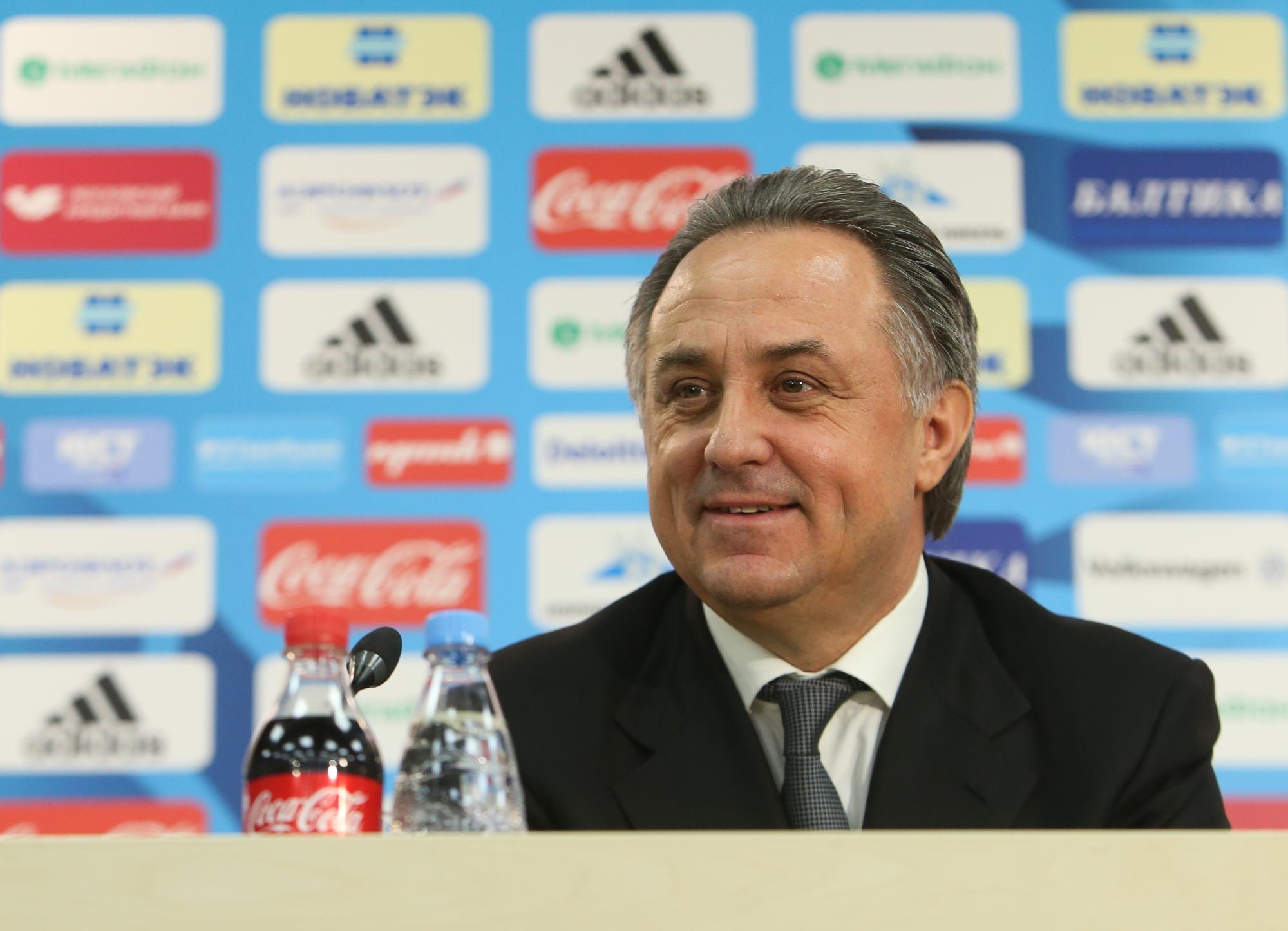 УЕФА включил Мутко всписок претендентов всовет ФИФА