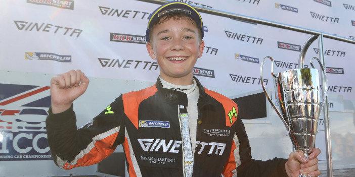 Монгер завоевал третье место впервой гонке сезона английской Формулы-3