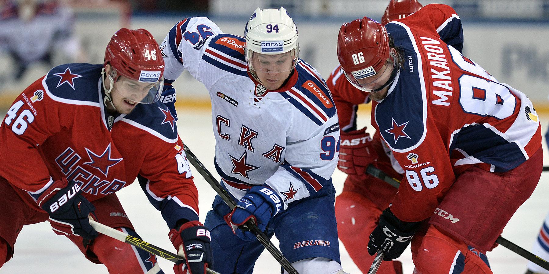 ЦСКА одержал волевую победу над СКА