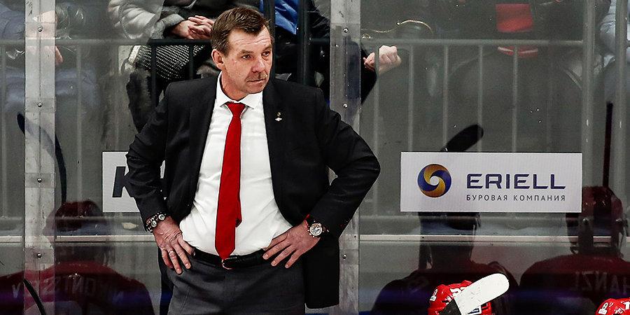 «Спартак» представил тренерский штаб на новый сезон. Ассистентом Знарка стал трехкратный обладатель Кубка Гагарина