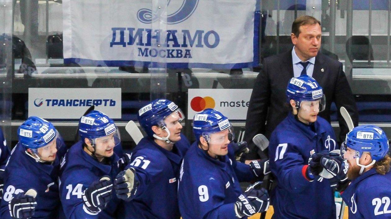 Новым тренером московского «Динамо» будет Воробьев КХЛ