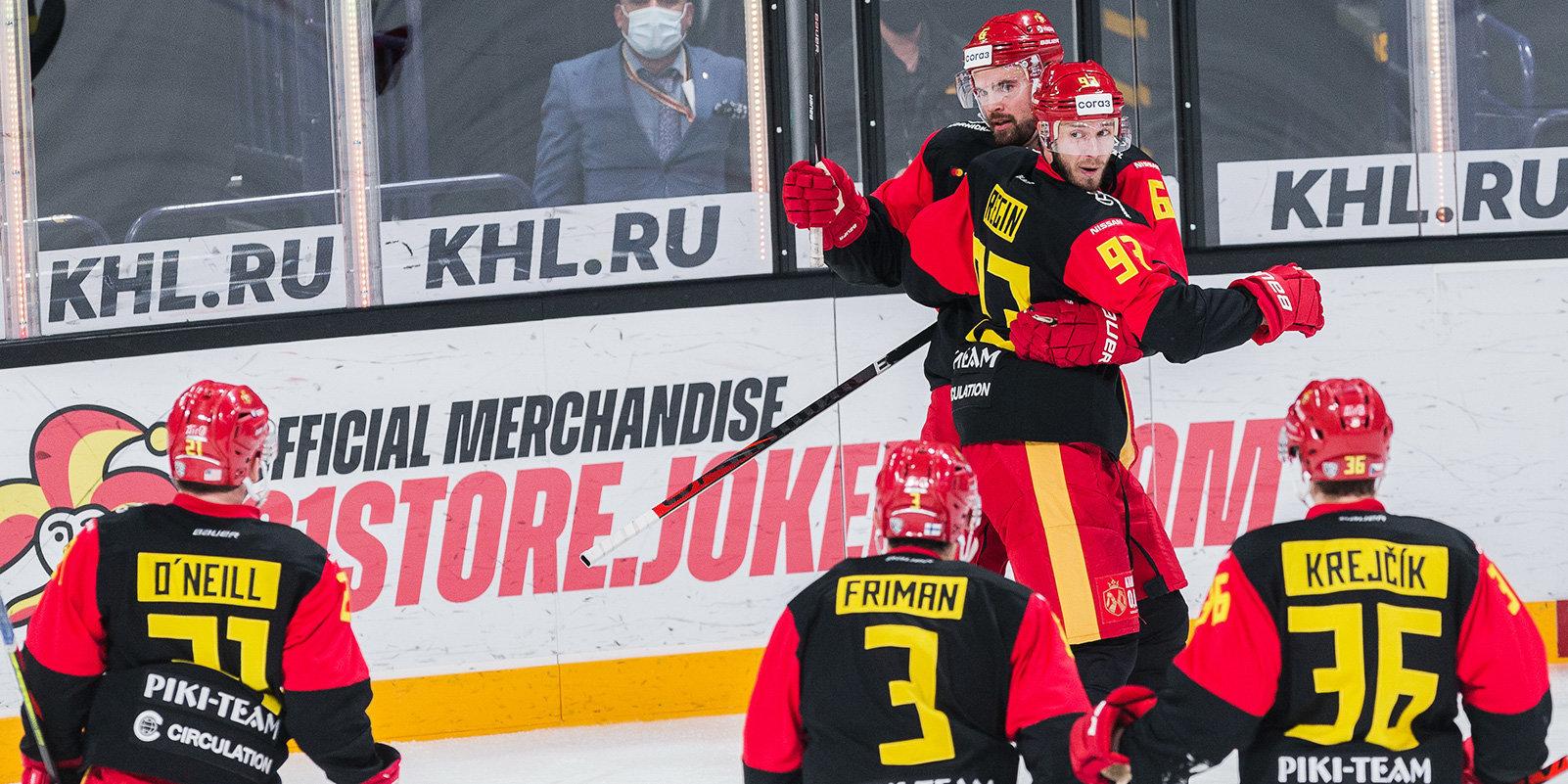 «Йокерит» второй раз в сезоне обыграл «Спартак»