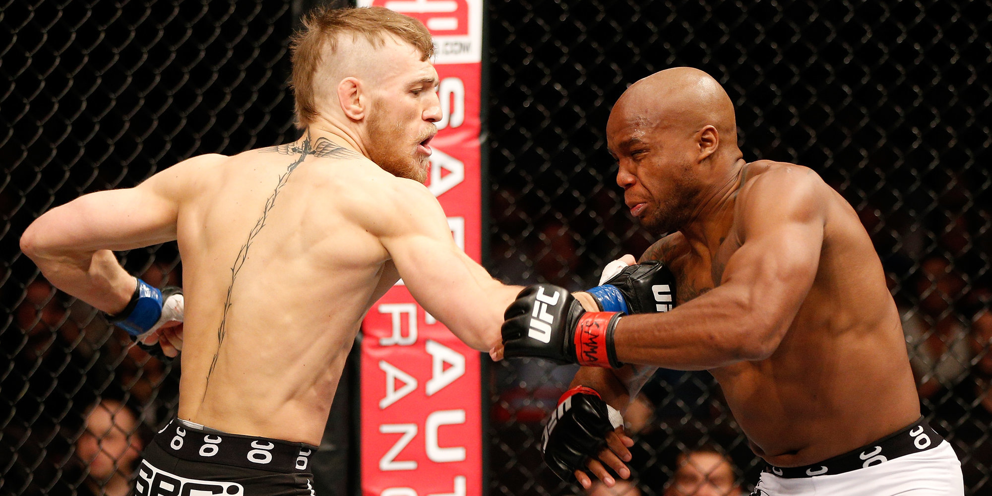 Макгрегор вспомнил дебют в UFC в 2013 году